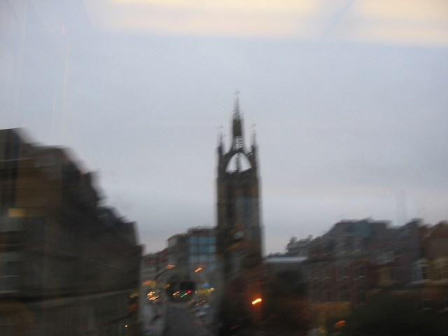 England: Out of Focus Tower Bridge 2
