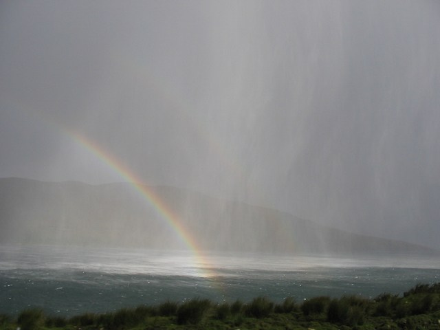 Scotland: Attack of the Rainbow Hail Storm Part Four (With the dual rainbow... I was so excited!)
