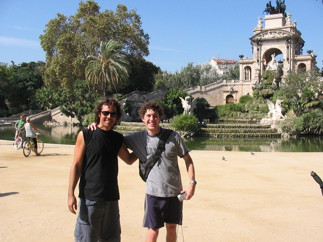 Spain: Me and our guide