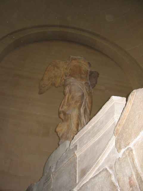 France: Winged victory (wasnt that impressive)