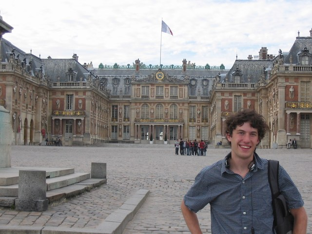 France: Me in the Chateau