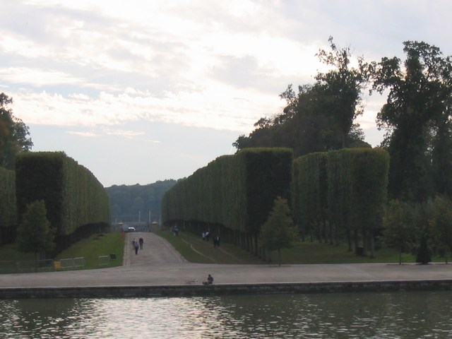 France: Walls of trees