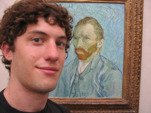 France: Musee d'Orsay... me and Vincent... did you know he had seizures too?
