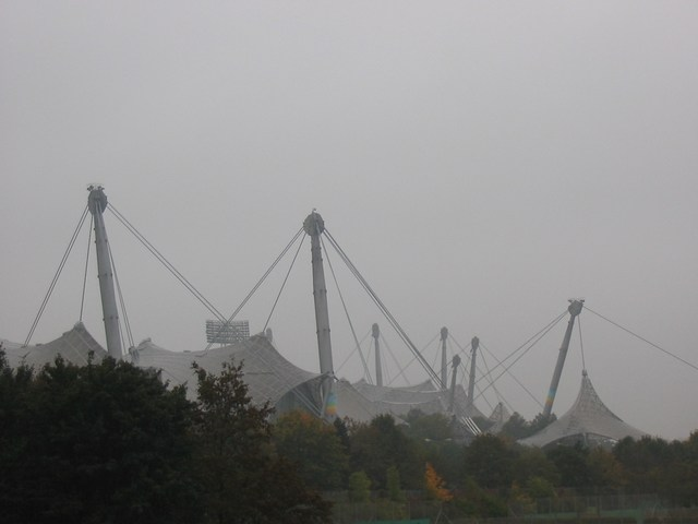 Germany: The 1972 olympic Stadium in Munich