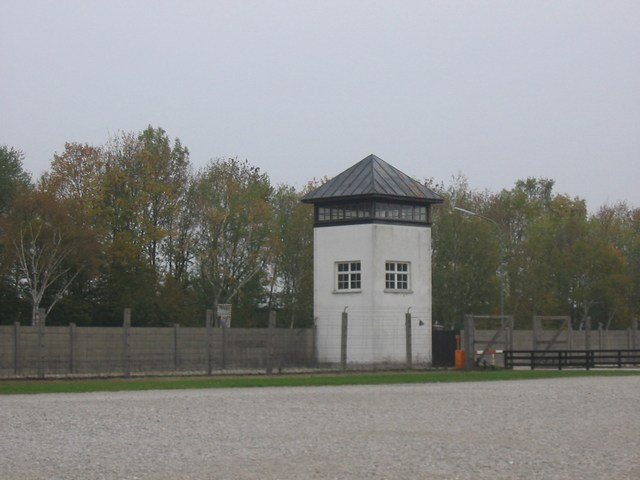 Germany: Dachau A sniper tower
