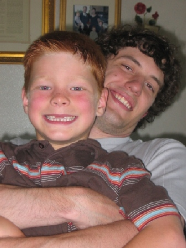 This is my Cousin whose Life I Saved ... Jacob