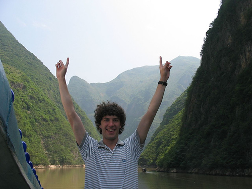 Yangtze River - They told me to get down off the balcony after this