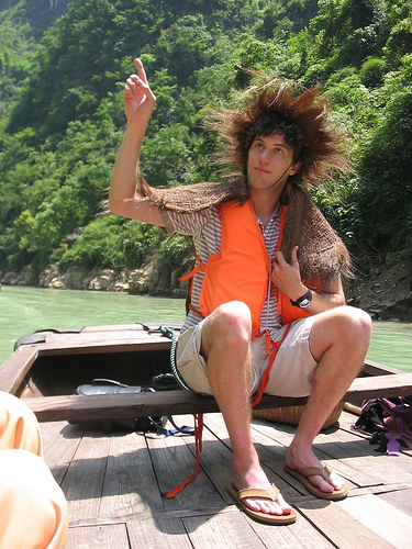 Yangtze River - Famous Dave Pointing