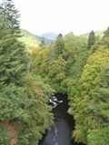 Scotland: Valley outside of Pitlochry where the Jacobite Warriors Defeated the English