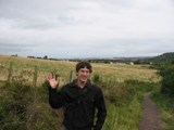 Scotland: Me! (Yes I was discouraged about the crappy view)