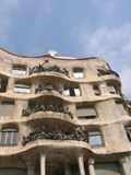 Spain: One of Gaudi's buildings