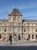 France: Outside of the louvre