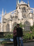France: Me, Gina and the hunchback