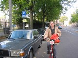 The Netherlands: Meika on her bike