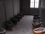 Germany: Dachau ... toilets