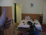 Czech Replublic: My Hotel... ahhh my own room... no hostelers doing it even