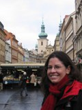 Czech Replublic: Sarah in the street