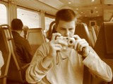 Switzerland: Messing around with camera modes on the train