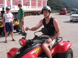 Greece: Matt on the ATV again