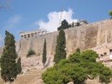 Greece: Athens - The fortess of the highest point in the city
