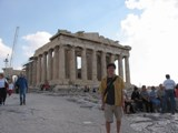 Greece: The parthenon... totally worth the long hours just to see it with my own eyes