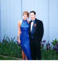 My prom with Jeff as my date!