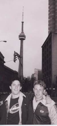 Dave & Dave Inside The CN Tower