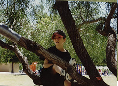 Sean and a Tree