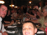A Ton of My Family at Fern's Bar