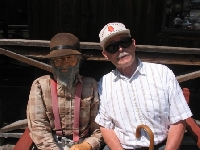 Grandpa and an Old Goldminer