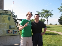 Me and a Random China Friend I met at a Rest Area