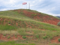 Hills in The First Wyoming Rest Area