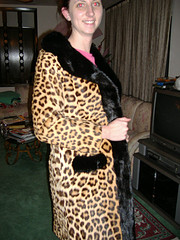 this is susan in her real leopard outfit