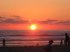 More sun.... it was one of the best sun sets I have ever seen.  West coast has nice ones