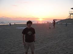 This time someone got me and the sunset... how romantic?