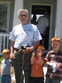 Grandpa and Jeffs Kids