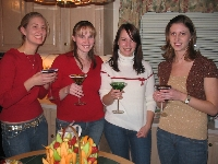 Hot chicks with Appletini's MMMMM