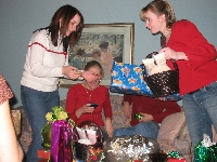 The Girls Opening presents