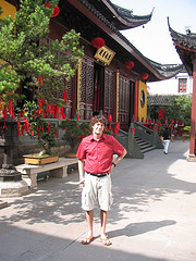 Shanghai - At an ancient Buddist Temple
