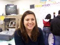 A pic a student took of me my 1st year of teaching
